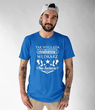 Jestem najlepszy!  - Koszulka z nadrukiem - Wędkarskie - Męska