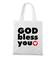 Pan z toba miej go w sercu torba z nadrukiem chrzescijanskie gadzety werprint 886 161