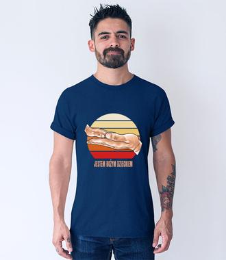 Bożym dzieckiem jestem ja - Koszulka z nadrukiem - chrześcijańskie - Męska
