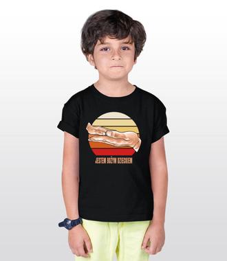 Bożym dzieckiem jestem ja - Koszulka z nadrukiem - chrześcijańskie - Dziecięca