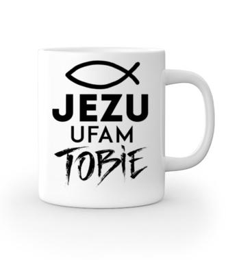 Jezu ufam Tobie… - Kubek z nadrukiem - chrześcijańskie - Gadżety