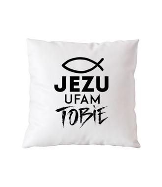 Jezu ufam Tobie… - Poduszka z nadrukiem - chrześcijańskie - Gadżety