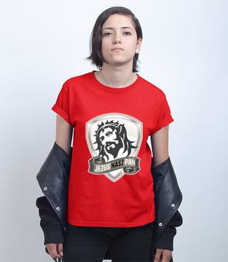 Jezus moim Panem - Koszulka z nadrukiem - chrześcijańskie - Damska