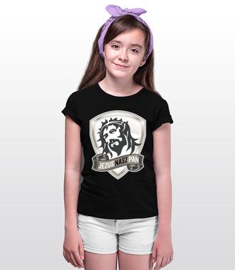 Jezus moim Panem - Koszulka z nadrukiem - chrześcijańskie - Dziecięca
