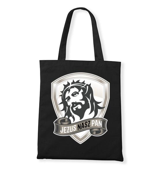 Jezus moim panem torba z nadrukiem chrzescijanskie gadzety werprint 893 160