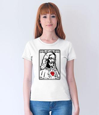 Jezus. Mój Pan. - Koszulka z nadrukiem - chrześcijańskie - Damska