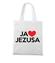 Kocham go kocham jezusa torba z nadrukiem chrzescijanskie gadzety werprint 897 161