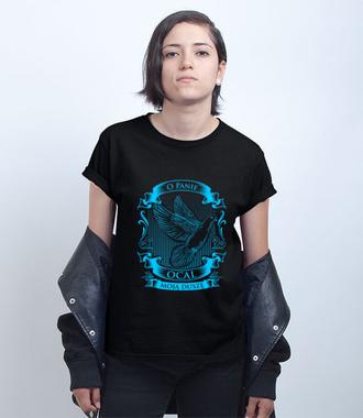 Panie, ocal moją duszę! - Koszulka z nadrukiem - chrześcijańskie - Damska