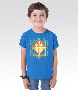 Krzyż. Symbol i coś więcej - Koszulka z nadrukiem - chrześcijańskie - Dziecięca