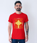 Krzyz ozdoba mojej duszy koszulka z nadrukiem chrzescijanskie mezczyzna werprint 903 54