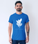 Roztropni nieskazitelni ludzcy koszulka z nadrukiem chrzescijanskie mezczyzna werprint 909 55