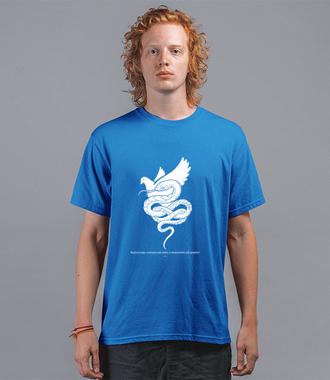 Roztropni, nieskazitelni, ludzcy - Koszulka z nadrukiem - chrześcijańskie - Męska