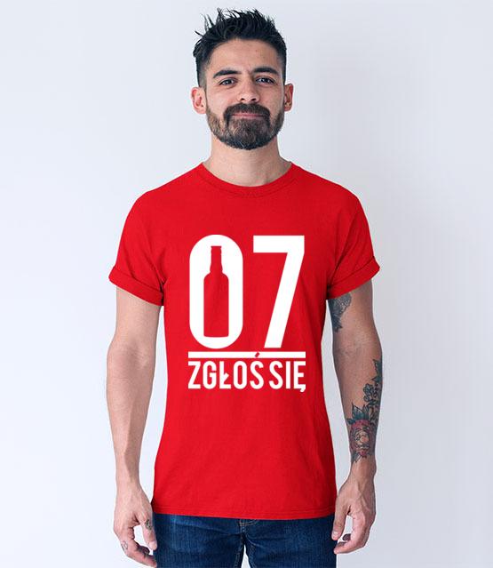07 zglos sie koszulka z nadrukiem smieszne mezczyzna werprint 160 54