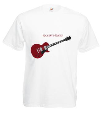 W żyłach wciąż Rock&Roll - Koszulka z nadrukiem - Dla Dziadka - Męska