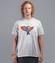 Az do nieba fruwajacy t shirt koszulka z nadrukiem zwierzeta mezczyzna werprint 924 45