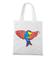 Az do nieba fruwajacy t shirt torba z nadrukiem zwierzeta gadzety werprint 924 161