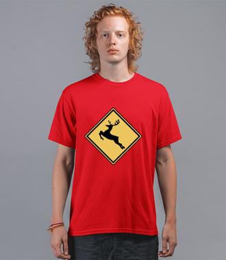 Nie bądź jeleń, kup koszulkę - Koszulka z nadrukiem - Świąteczne - Męska