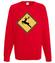 Nie badz jelen kup koszulke bluza z nadrukiem swiateczne mezczyzna werprint 926 108