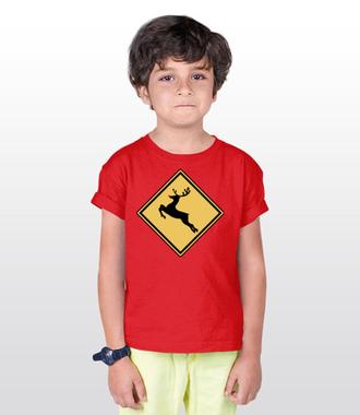 Nie bądź jeleń, kup koszulkę - Koszulka z nadrukiem - Świąteczne - Dziecięca