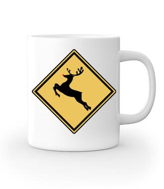 Nie bądź jeleń, kup koszulkę - Kubek z nadrukiem - Świąteczne - Gadżety