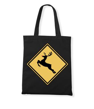 Nie bądź jeleń, kup koszulkę - Torba z nadrukiem - Świąteczne - Gadżety