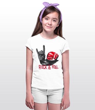 Rock and Roll. Moje brzmienie. - Koszulka z nadrukiem - Muzyka - Dziecięca