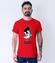 Byc jak elvis koszulka z nadrukiem smieszne mezczyzna werprint 940 54