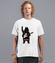 Misiowy rock and roll koszulka z nadrukiem muzyka mezczyzna werprint 941 40