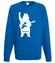 Misiowy rock and roll bluza z nadrukiem muzyka mezczyzna werprint 942 109
