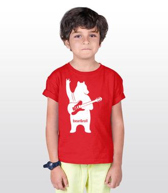 Misiowy rock and roll - Koszulka z nadrukiem - Muzyka - Dziecięca