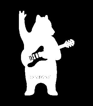 Misiowy rock and roll grafika na koszulke dziecieca 942