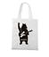 Misiowy rock and roll torba z nadrukiem muzyka gadzety werprint 941 161