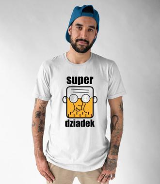 Super dziadek, to Ty! - Koszulka z nadrukiem - Dla Dziadka - Męska