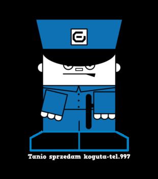 Tak jest panie policjancie grafika na koszulke meska 950