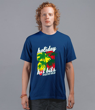 Reggae, chill i lekkość stylu - Koszulka z nadrukiem - Muzyka - Męska