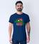 Z humorem przez zycie koszulka z nadrukiem zwierzeta mezczyzna werprint 955 56