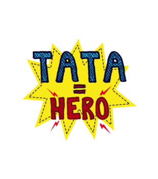 Tata hero grafika na koszulke meska 957