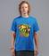 To nie bajka to bitwa koszulka z nadrukiem zwierzeta mezczyzna werprint 958 43