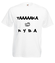 Taaaka ryba na taakiej koszulce koszulka z nadrukiem smieszne mezczyzna werprint 164 2