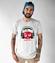 Owocowy bit koszulka z nadrukiem muzyka mezczyzna werprint 960 47