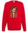 W pelni patriotycznych sil bluza z nadrukiem smieszne mezczyzna werprint 962 108