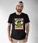 Z pelni serca koszulka z nadrukiem smieszne mezczyzna werprint 963 46