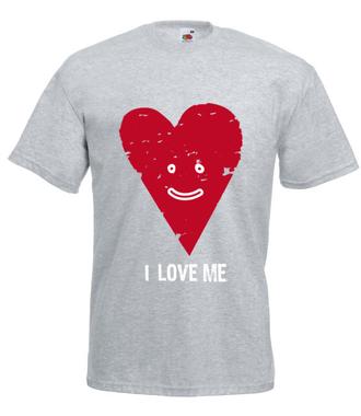 Z pełni mojego serca - Koszulka z nadrukiem - na Walentynki - Męska