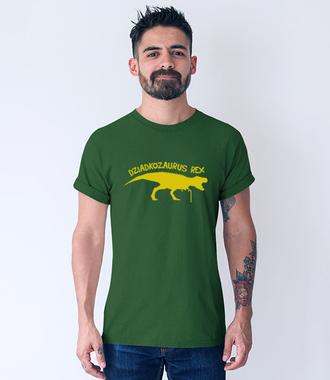 Dziadkozaur Rex - Koszulka z nadrukiem - Dla Dziadka - Męska