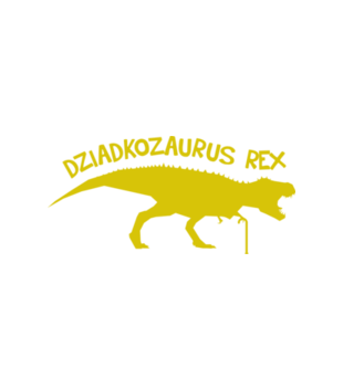 Dziadkozaur rex grafika na koszulke meska 966