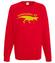 Dziadkozaur rex bluza z nadrukiem dla dziadka mezczyzna werprint 966 108