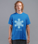 Niech pada snieg koszulka z nadrukiem swiateczne mezczyzna werprint 970 43