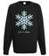 Niech pada snieg bluza z nadrukiem swiateczne mezczyzna werprint 970 107