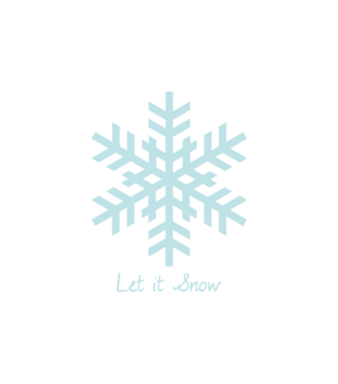 Niech pada snieg grafika na bluze z kapturem damska 970