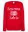Bezcenna babcia bluza z nadrukiem dla babci kobieta werprint 993 116
